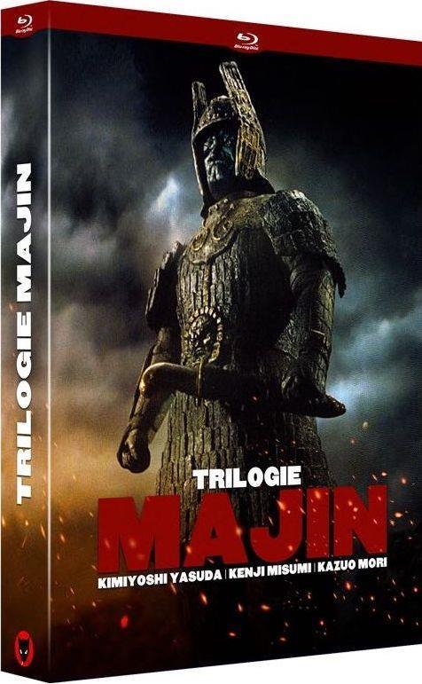 trilogie Majin : Majin ; le retour de Majin ; le combat final de Majin
