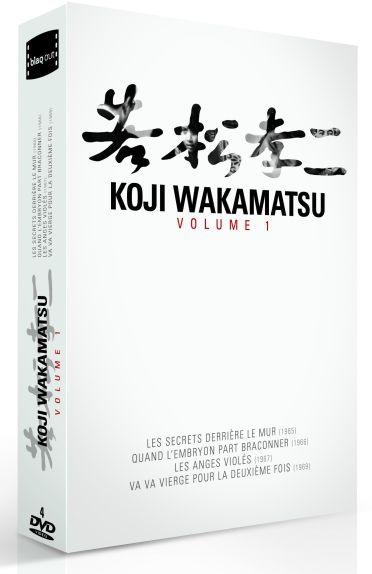 Kôji Wakamatsu - Vol. 1 (Coffret 4 DVD)