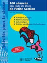 Vente Livre Numérique : 100 séances pour toute une année de Petite Section  - Régine Quéva - Dorothée Sacy