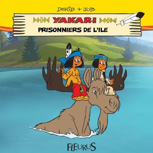 Yakari ; prisonniers de l'île