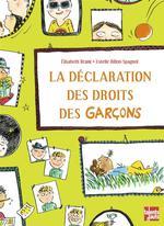 Couverture de La Declaration Des Droits Des Garcons