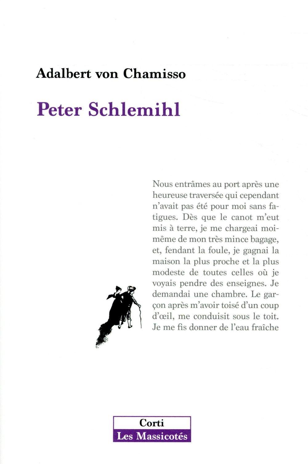 PETER SCHLEMIHL  -  L'OMBRE ET LA VITESSE DE PIERRE PEJU