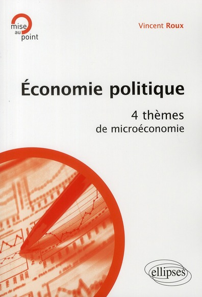 Economie Politique 4 Themes De Microeconomie