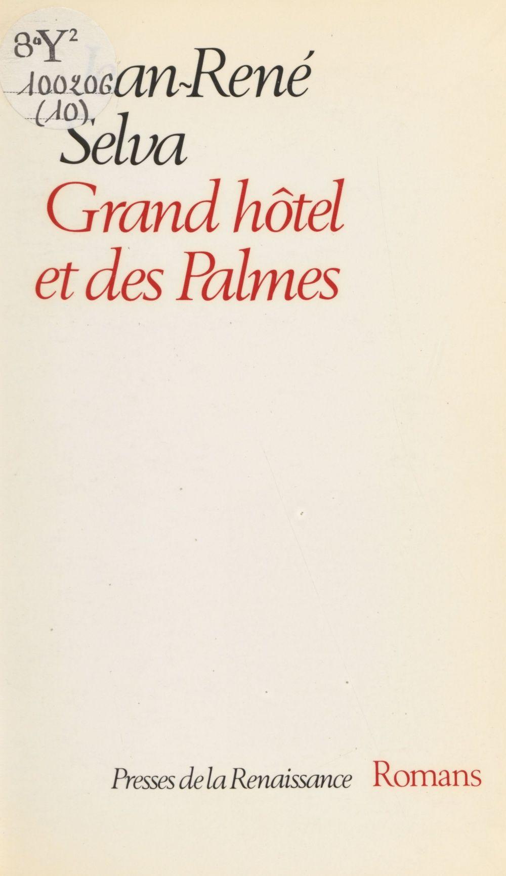 Grand hôtel et des Palmes