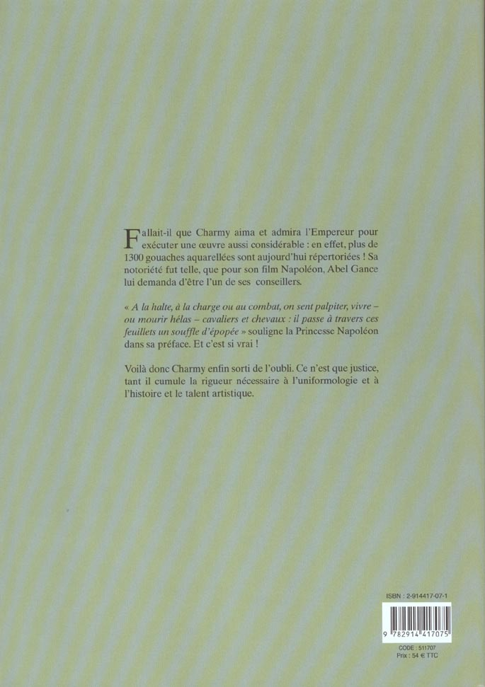 Splend.des unif de napoleon-cavalerie - tome 1 - cavalerie