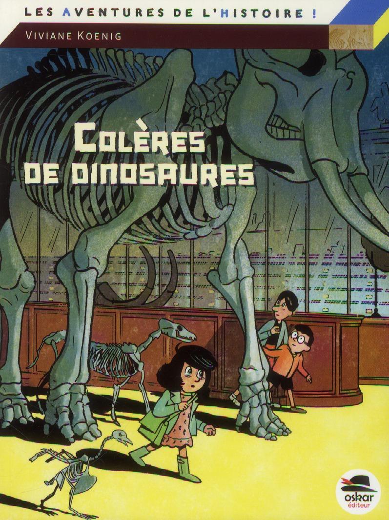 Colères de dinosaures