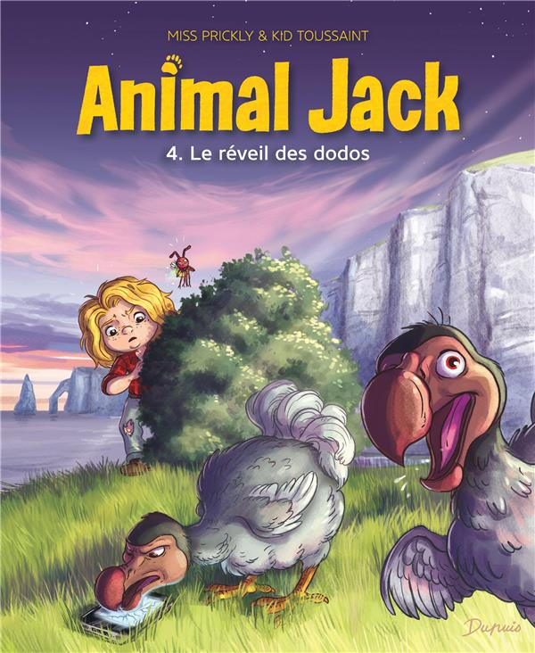 Animal Jack T.4 ; le réveil des dodos