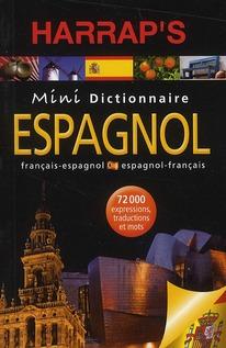 Mini Dictionnaire Harrap'S ; Espagnol-Francais/Francais-Espagnol (Edition 2010)