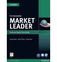 Market leader 3rd ed course book w/ dvd-rom pre-intermediate