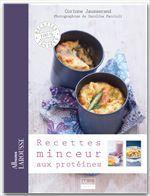 Recettes minceur aux protéines  - Corinne Jausserand - Collectif