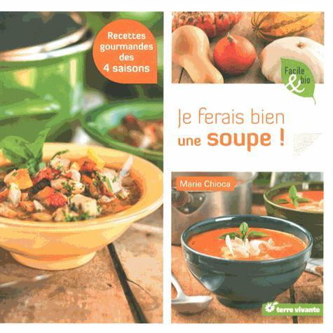 Je ferais bien une soupe ! ; recettes gourmandes des 4 saisons