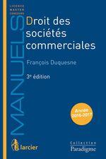 Vente Livre Numérique : Droit des sociétés commerciales  - François Duquesne
