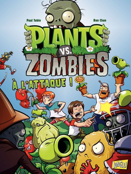 Plants vs zombies T.1 ; à l'attaque !