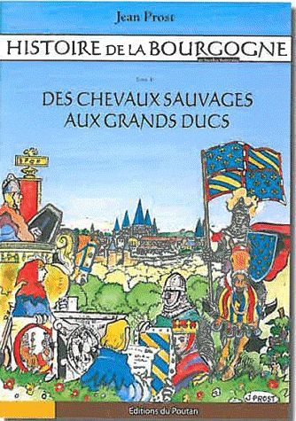 Histoire de la Bourgogne en bandes dessinées t.1 ; des chevaux sauvages aux grands ducs