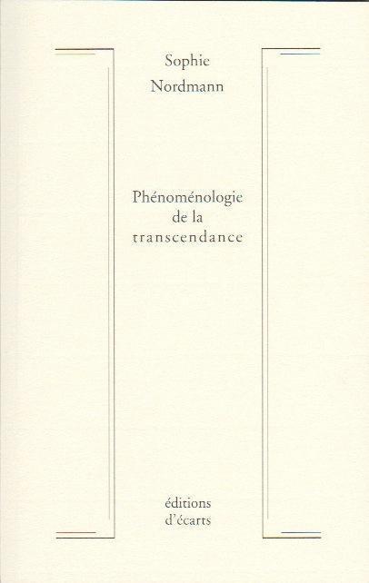 Phénoménologie de la transcendance