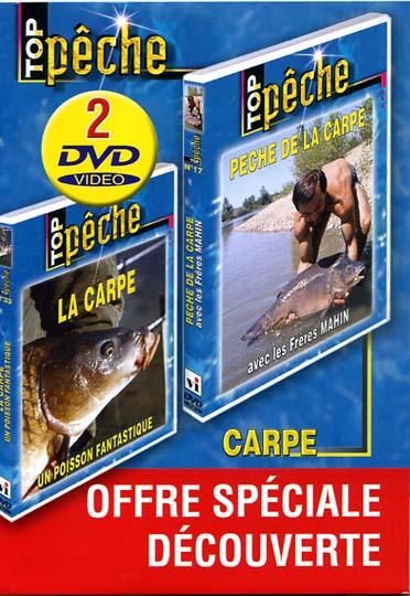 coffret top pêche, vol. 4 : la carpe ; pêche de la carpe