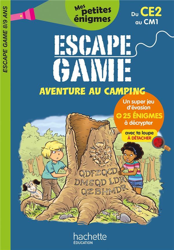 ESCAPE GAME  -  AVENTURE AU CAMPING  -  DU CE2 AU CM1 LEROY-JOUENNE, CHARLOTTE