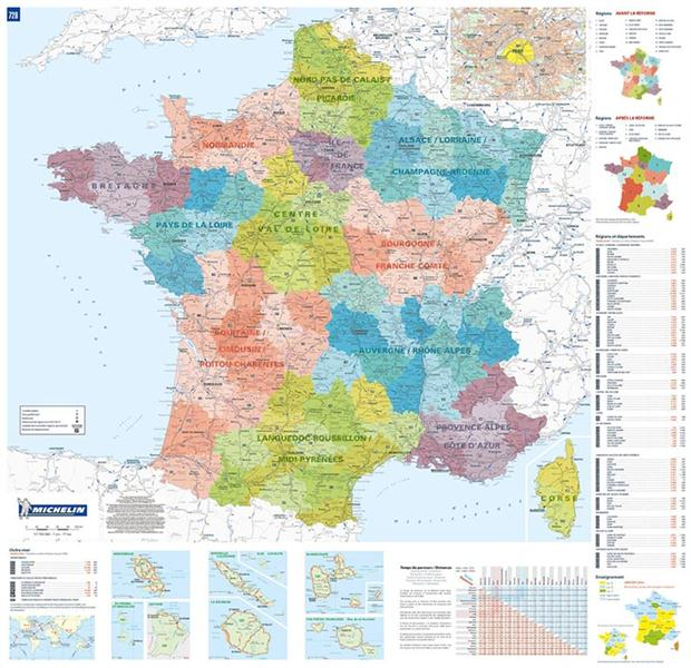 Poster france administrative