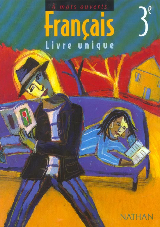 A Mots Ouverts Francais 3eme Manuel De L Eleve Edition 2003 Collectif Nathan Grand Format Attitude