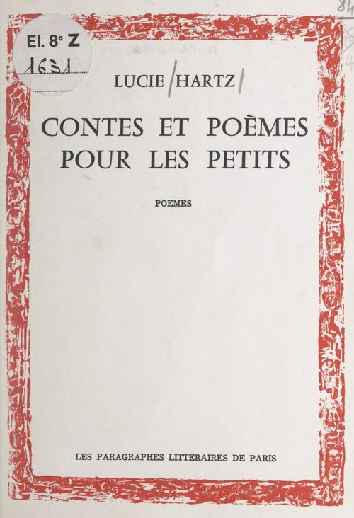 Contes et poèmes pour les petits