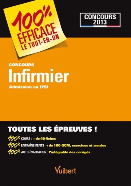 Concours Infirmier ; Admission En Ifsi
