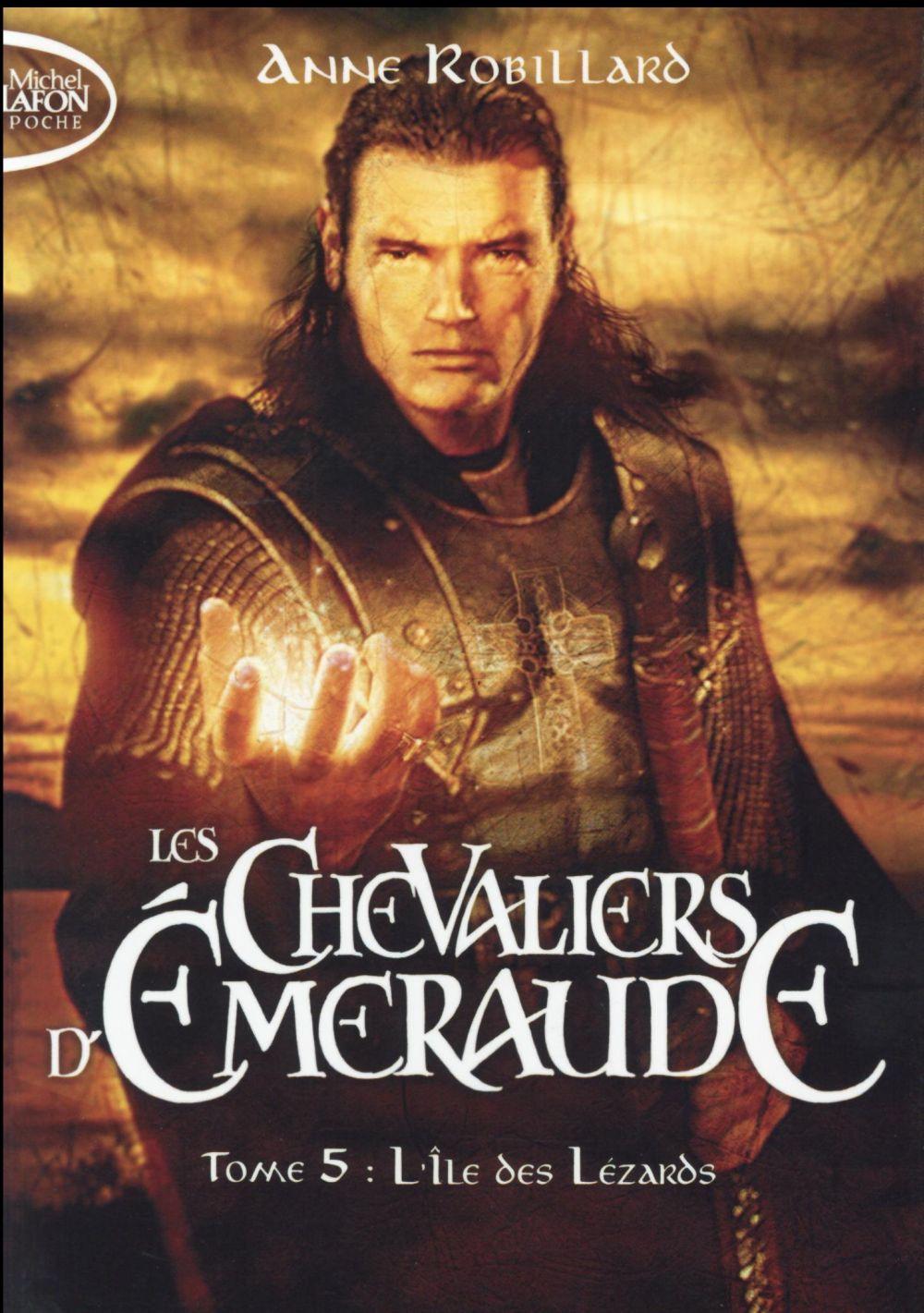 les chevaliers d'Emeraude t.5 ; l'île des lézards
