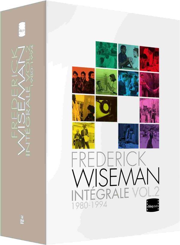 Frederick Wiseman - Intégrale Vol. 2 : 1980-1994