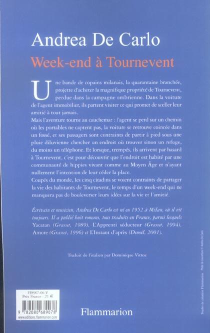 Week-end à Tournevent
