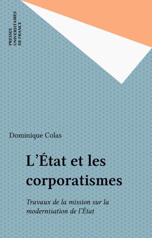 L'État et les corporatismes