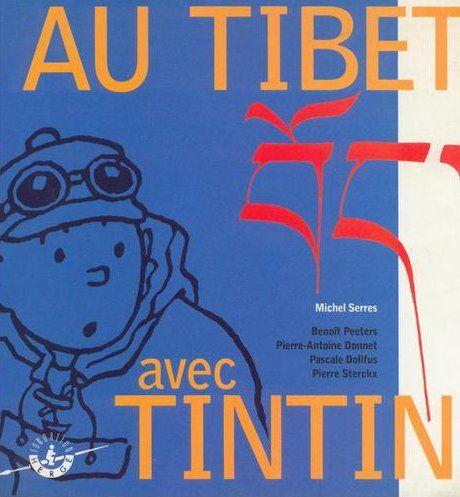 Catalogue de l'exposition uu Tibet avec Tintin