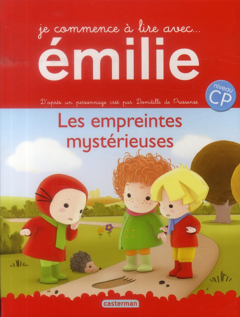 Je commence à lire avec Emilie T.3 ; les empreintes mystérieuses ; niveau CP