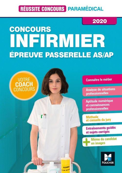 Réussite concours ; concours infirmier ; épreuve passerelle AS/AP (édition 2020)