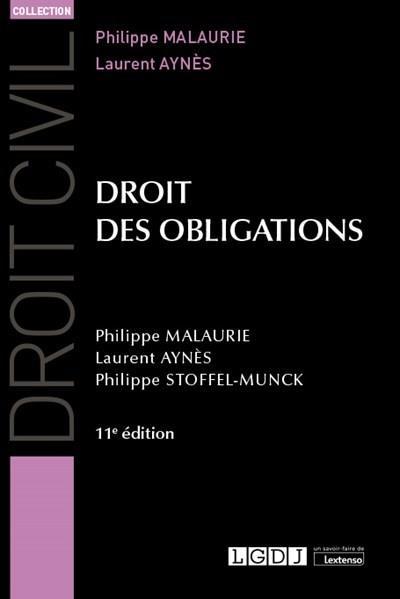 Droit des obligations (11e édition)