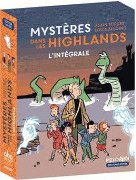 Mystères dans les Highlands ; COFFRET INTEGRALE T.1 A T.3