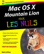 Vente Livre Numérique : Mac OS X Mountain Lion Pour les Nuls  - Bob LEVITUS