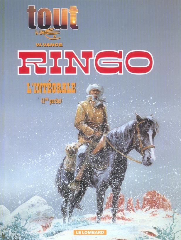 tout vance t.8 ; intégrale Ringo t.1