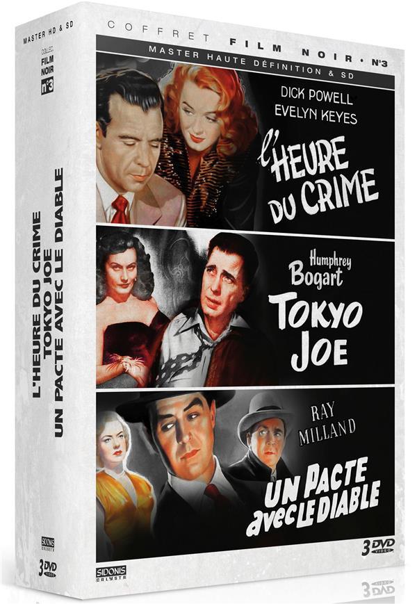 L'heure du crime + Tokyo Joe + Un pacte avec le diable
