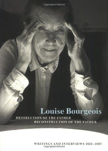 Louise bourgeois destruction of the father/reconstruction of the father