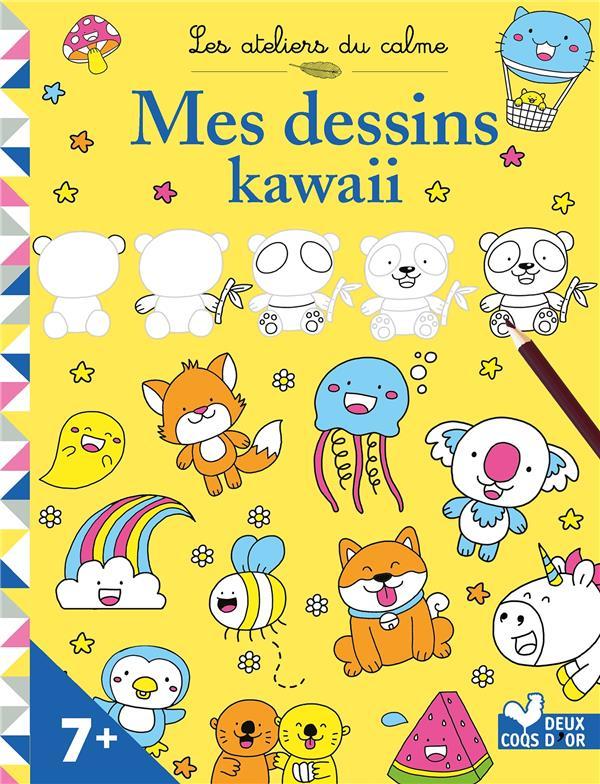 LES ATELIERS DU CALME  -  MES DESSINS KAWAII