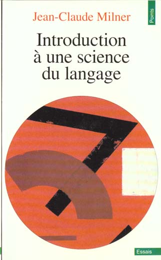 Introduction a une science du langage