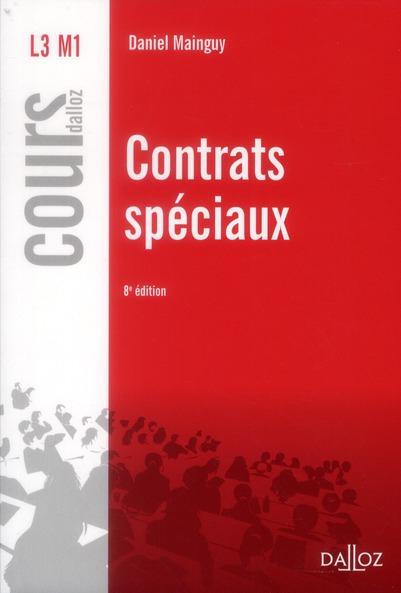 Contrats spéciaux (8e édition)