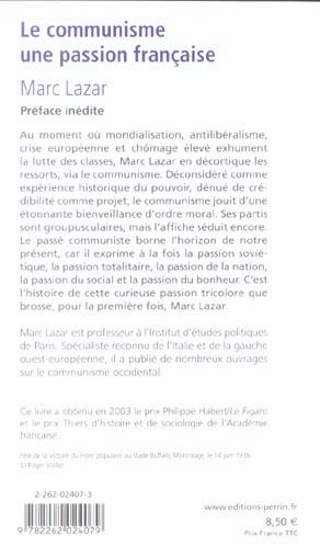 Le communisme, une passion française