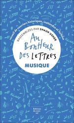 Vente Livre Numérique : Au bonheur des lettres. Musique  - Shaun Usher