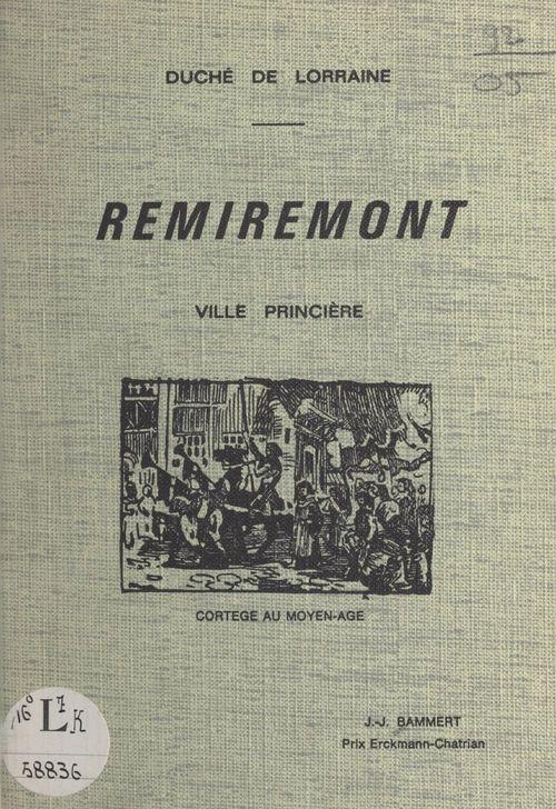 Remiremont  - Jacques Joseph Bammert