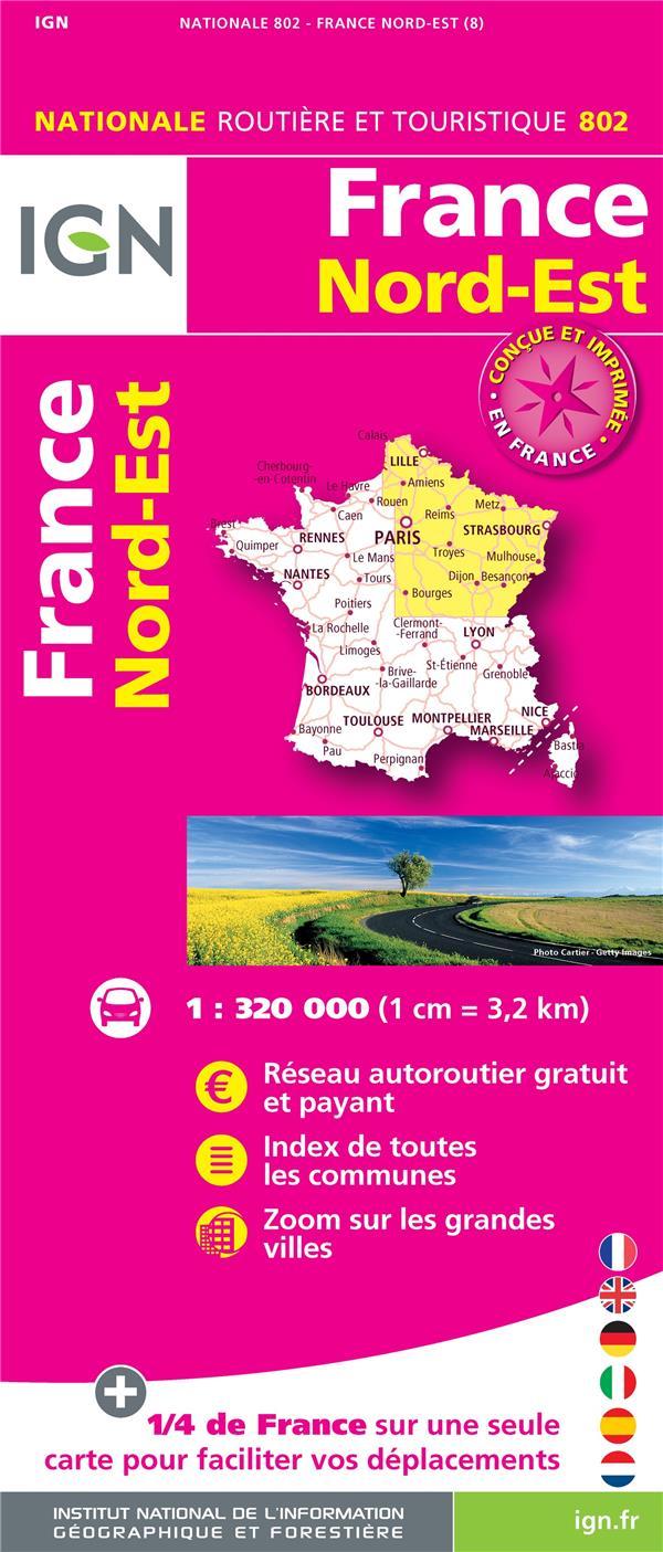 1M802 ; France Nord-Est (8e édition)