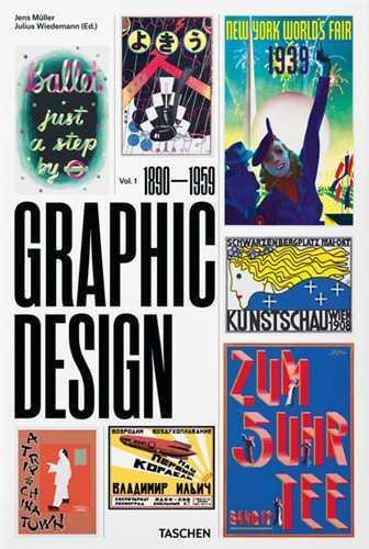 Histoire du graphisme t.1 ; 1890–1945