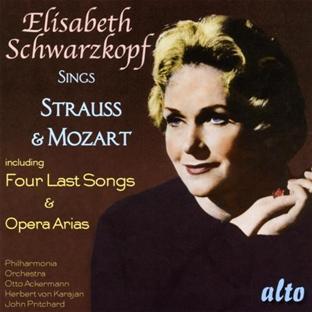 Elisabeth Schwarzkopf chante Strauss (quatre derniers Lieder) et Mozart