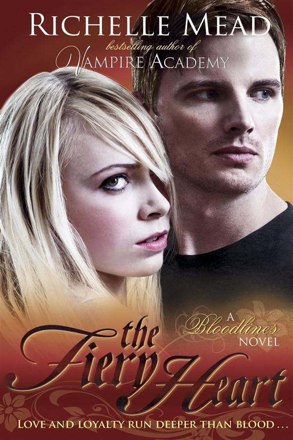 Bloodlines: the fiery heart (book 4)