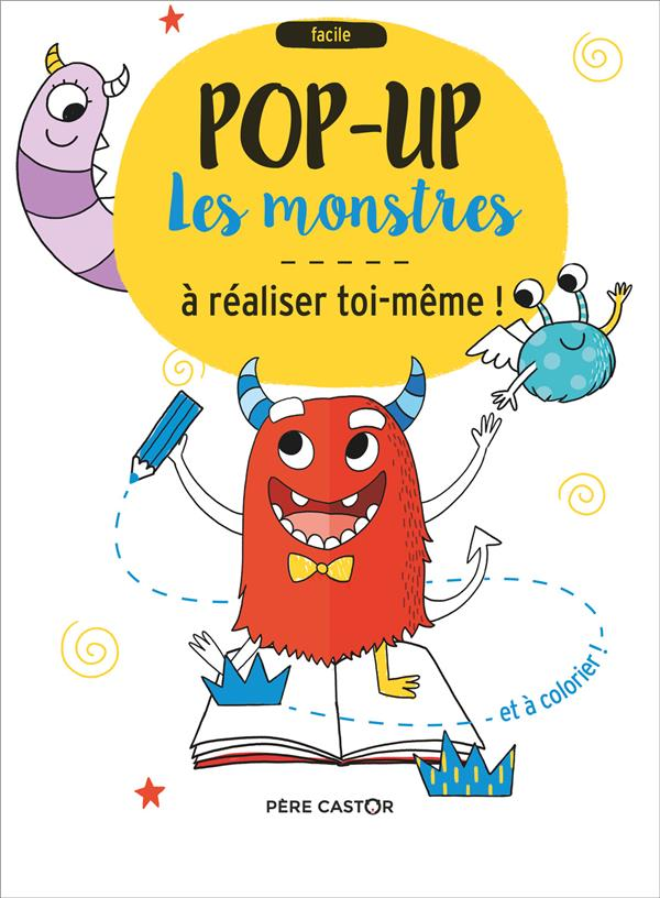 Les monstres ; pop-up à réaliser toi-même !