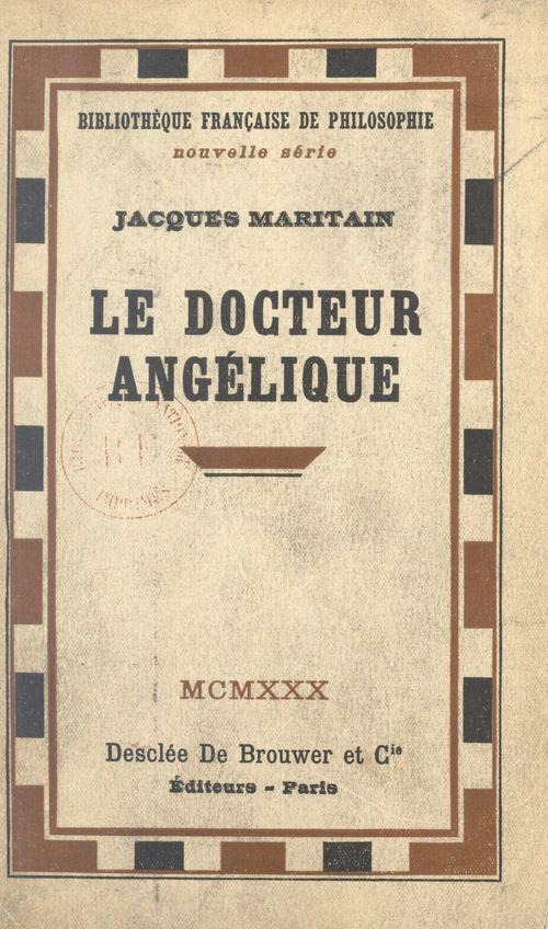 Le Docteur Angélique